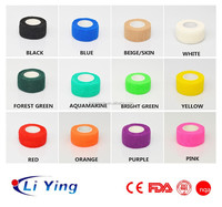 Adhesive medical bandage for veterinary use