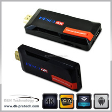 OEM & ODM Android 4.4 smart tv stick RK3288 4K dongle Quad Core Android 4.4 TV Box RK3288 tv stick BT 4.2