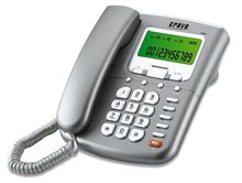 20 two-touch memory , Pre-dialing and edit function telephone