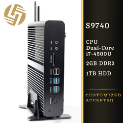 Computer factory direct hdd fanless hd htpc