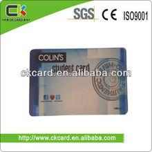 venta caliente de plástico tarjeta vip hecha por la fábrica de china