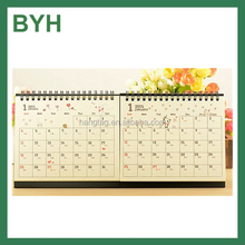 bedruckbaren papier tischkalender 2016 spirale tischkalender falten tischkalender