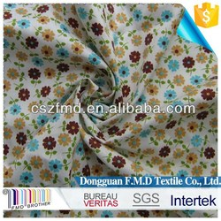new style hot sale printed flower parttern cotton twill fabric