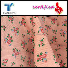Printed corduroy fabric/100% cotton corduroy printed cloth fabric/indonesia cotton printed fabric