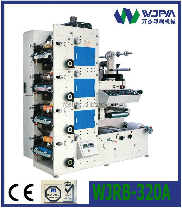 WJRB-320  Flexo- Graphic Label Printing Machine