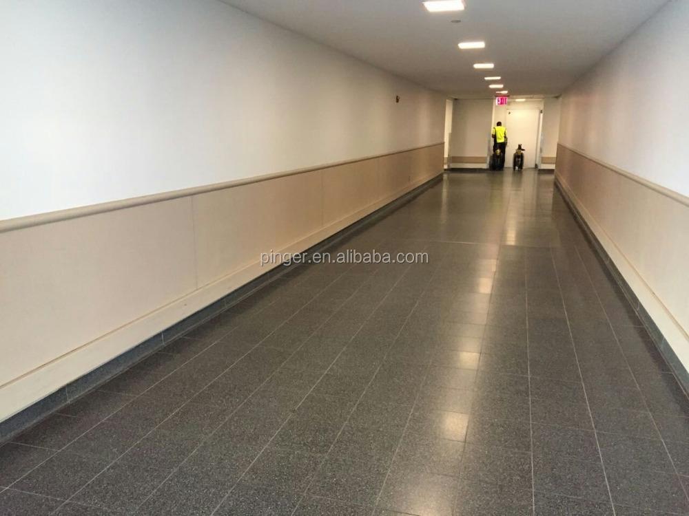 Revetement Mural Couloir #11: Aéroport Couloir Protection En Plastique Revêtement Mural