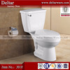 s trap 300 mm two piece siphonic toilet, south america small hole wc, ceramic western toilet