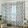 Kids bedroom cartoon curtains for sale