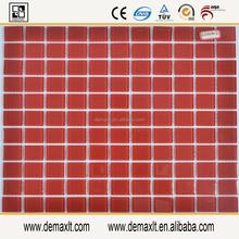 kitchen backsplash mosiac with low price home decor red glass tile decorative mosaic tile