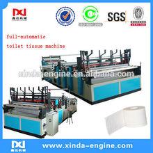 cortadora rebobinadora papel higiénico maquinaria