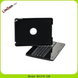 360 Degree Rotatable Bluetooth Keyboard for iPad Air 2 with Cover 2 in 1