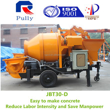 trailer gear pump concrete mixer pump