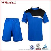 2015 Blue New Fashion Design Blank Sportswear Team Football Jerseys