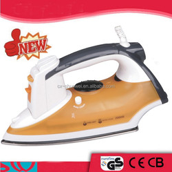 2015 newest home appliance ceramic coating solaplate national electric iron/plancha