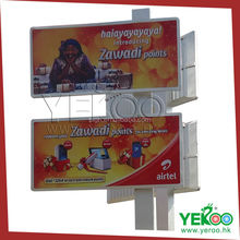 Double Decker Lighting Frame Advertising Flex Banner Billboard Board