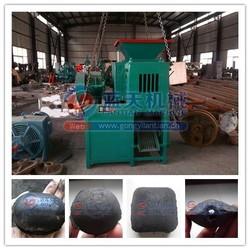 Pillow oval shape bbq charcoal making machine briquette ball press machine