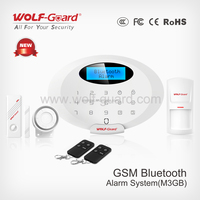 Wolf-guard new products wireless gsm home Italian alarm security system with proximity sensor with Bluetooth App