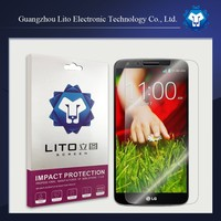Guangzhou mobile phone tempered glass screen protective film for lg g2