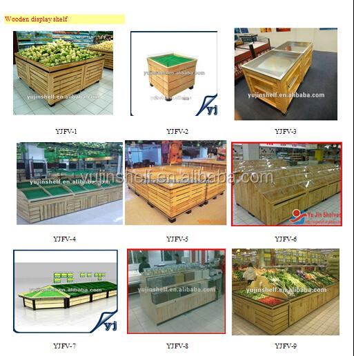 Three layers rack fruit rack display shelf for supermarket ,store