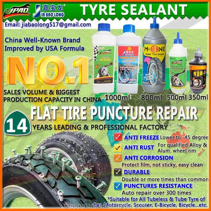 Anti Puncture Repair Liquid Tyre Sealant and Tyre Puncture Sealant