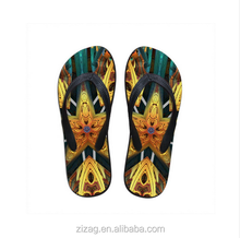 2016 cheap wholesale custom printed eva rubber belt fancy child adult flip flop, flip-flop