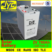 2 volt solar batteries, 700ah deep cycle solar battery for solar power systems