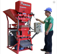 China 2015 hot seling automatic hydraulic lego brick euipment for small business at home
