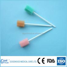 oral sponge swab with kinds of shapes