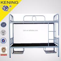student hostel camp metal bunk bed/adult metal bunk beds with low price