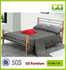 sliver sample wooden legs modern king metal bed