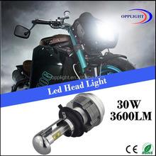Super bright CRE E led h4 motorcycle headlight conversion kit