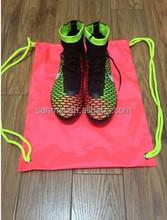 2015 new drawstring shoe bag & cotton drawstring shoe bag