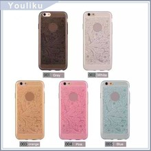 fashion girls design multi color mobile cell phone case for iphone 6, phone covers with best price