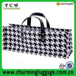fabric wine bag/jute wine bag/wine tote bag