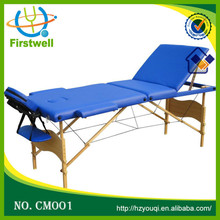 High Quality Bed Massage Wood Leisure Massage Table with Split Leg