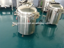 meat aquatic products vocuum type oil filter from china shantou