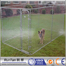 wholesale cheap large outdoor chain link fence dog kennel (factory)