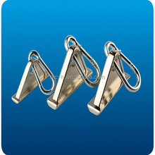 Aluminum profile accessory earring lifting hook and loop