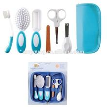 Cuidado de las uñas materiales fabricación de BPA bebé libre grooming kit, infantil de atención nursery kit, cuidado de las uñas compañero pequeña del bebé grooming Kit
