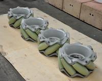 1500kg load capacity omni wheel used on aerospace industry