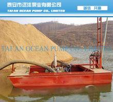 10 inch river sand mining dredger
