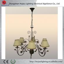 Antique fabric hanging hall decorative pendant light
