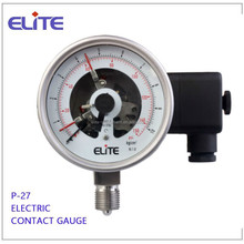 P-27 4 inch 100mm ALL SS Pressure Gauge Electrict Contact Gauge