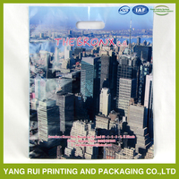 polypropylene foldable recycle customized high quality die cut bag