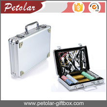 professional handmade functional portable silver aluminum tool case