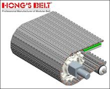 superior modular plastic conveyor belt applied in pork industries