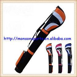 golf gun bag men three colors choice 128cm nylon material