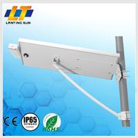 Lanting solar led street light price list with adjustable solar panel