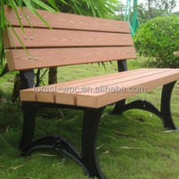 wood wpc cutting bench indoor wood park bench cheap chinese advertising park benches