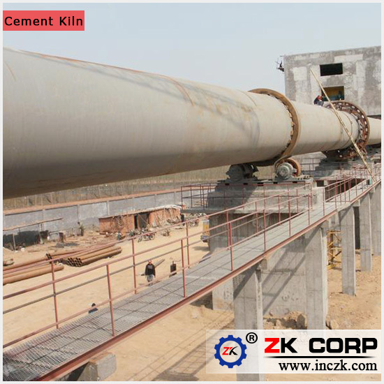 Cement Kiln Clinkers : Supply cement rotary kiln production line with